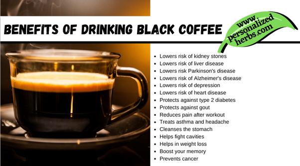 Is Black Coffee Healthy Quora
