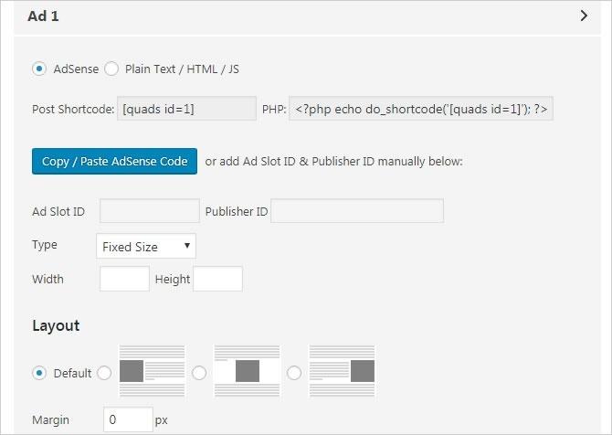 How to put Google adsense on wordpress blog - Quora