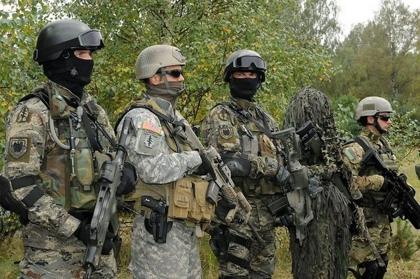 in the english speaking world outside of the united states special forces are military