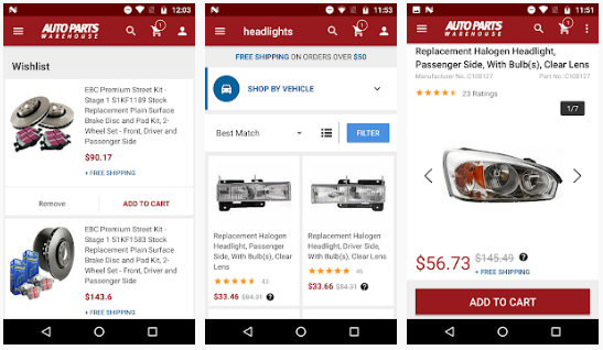 Car Part Com Used Auto Parts >> What App Do You Use To Search For Car Parts By Year Make And