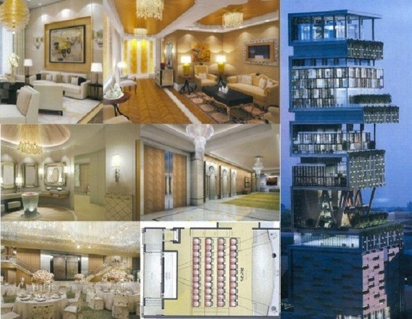 What Are The Features Of Mukesh Ambani S House Antilia Quora