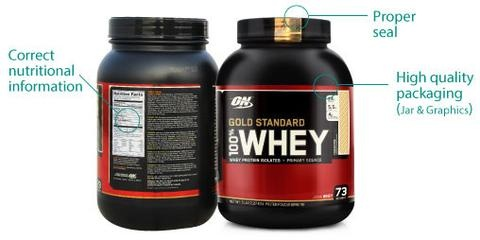 How To Identify Fake Gold Standard Whey Protein 10 Lbs Pack Quora