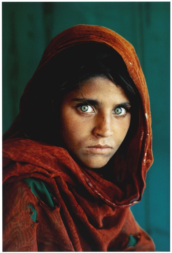 why is national geographic s afghan girl called as the afghan
