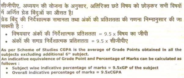 What is the formula for CGPA calculation on the Indian Navy form ...