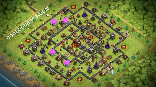 What is the best trophy base for th10 in COC? - Quora