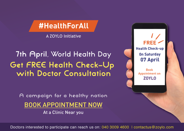 Where can I get a free health checkup in Hyderabad? - Quora