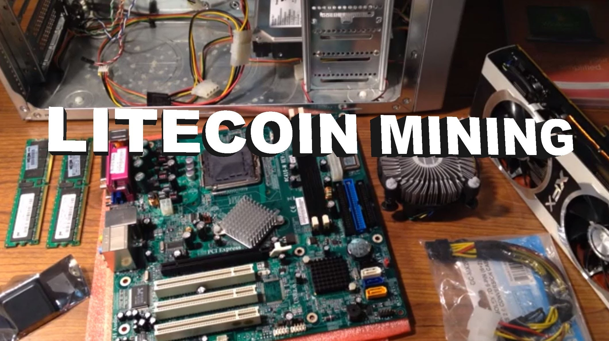 How does one build a Litecoin Mining rig? - Quora