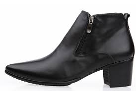 7babae36dd30 What are some mens shoes that have a high heel  - Quora