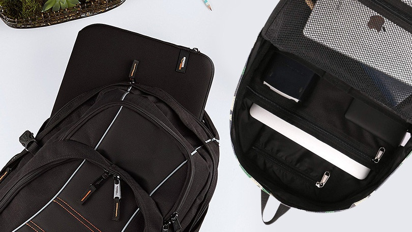 e650665c7a The AmazonBasics Laptop bag is everything you d expect from the  Seattle-based shopping giant. It s relatively comfortable and easy to  carry