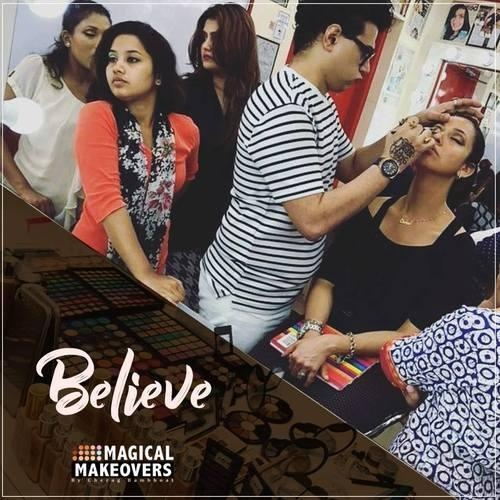 Now at state of art Cherag Bambboat's Magical Makeover (The complete Beauty Studio), you can also get transformed by Bollywood style Makeup and get the ...