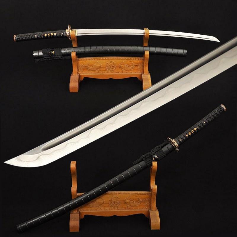How sharp can real katana swords be? - Quora
