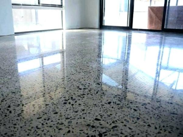 How To Polish Concrete Floors Quora