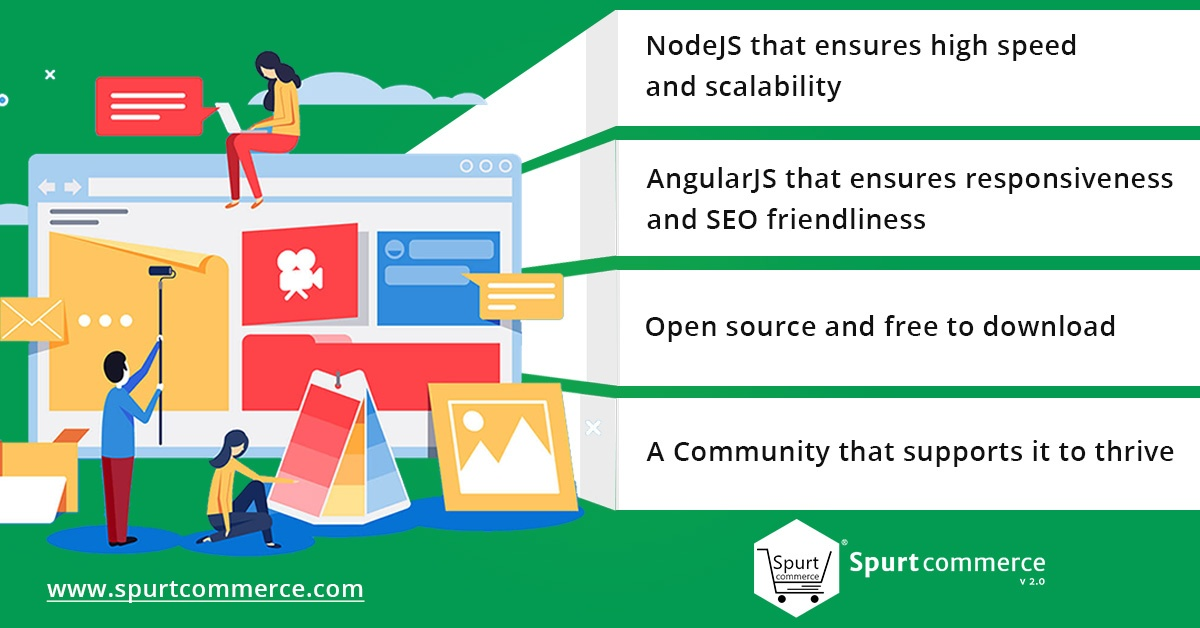 What are some open source NodeJS-RESTful projects to take a