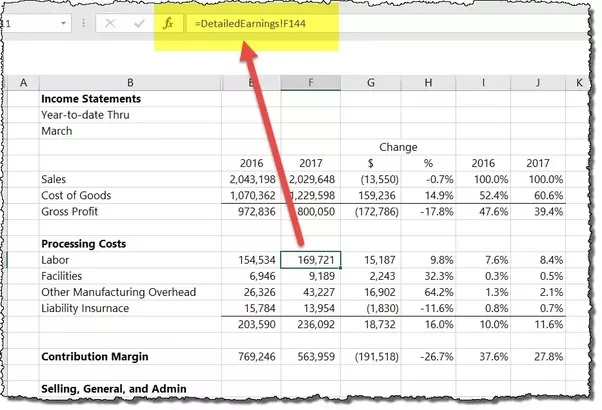 how to prepare financial statements of a company in microsoft excel