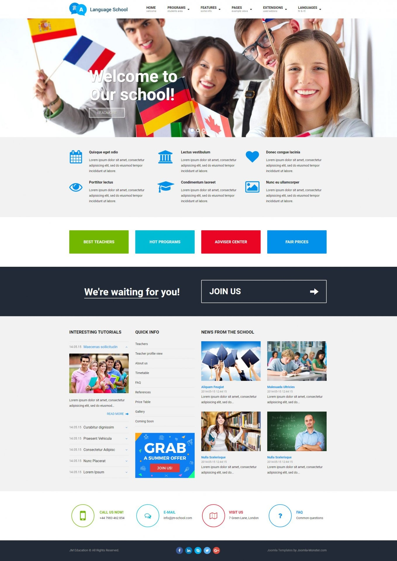 Template For Joomla Cms It Means That Follows Wcag And Section 508 Ada Recommendations An Accessible Website To Adjust People With