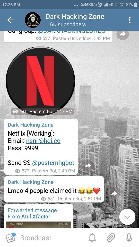 Rating: netflix telegram channel