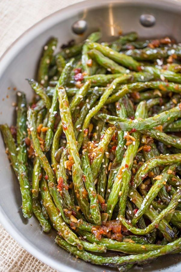 Chinese Pan Fried Green Beans