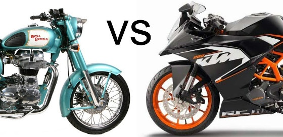 Which bike should I prefer— a KTM Duke 200 or a Royal Enfield