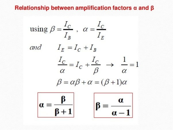 What is the relationship between alpha and beta in a