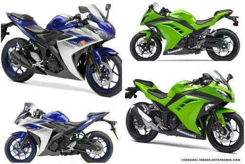 Yamaha ninja 300