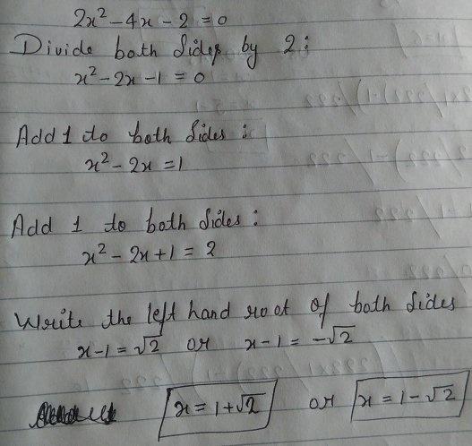 if 2x 4x 2 0 what is x quora if 2x 4x 2 0 what is x quora