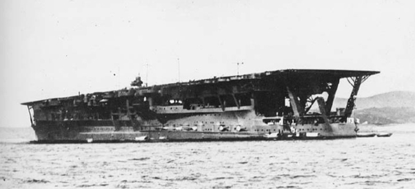 Why, in the Pacific war, were Japanese aircraft carriers