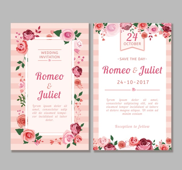 What is the best marriage invitation message you can write quora if you are looking attractive eye catching unique modern style wedding invitationwedding postcard greeting card m4hsunfo
