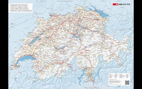 世界各国の鉄道路線図を貼ってもらえませんか? - Quora