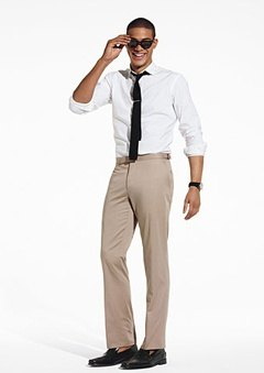 Black Shoes With Khakis Gq
