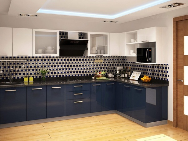 What Is The Best Color Combination For Kitchen Cabinets With Black Countertop Quora