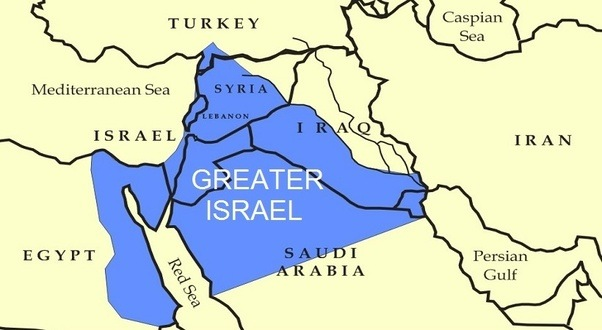 Is The Greater Israel Plan By Zionists True Quora