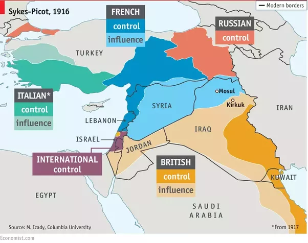 Why is arabia so parcelled compared to egypt turkey iranpersia allow me to introduce you to a map of the middle east circa 1916 following the end of world war i youll notice britain and france seem to own most of the gumiabroncs Choice Image