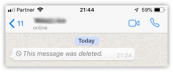 How to view WhatsApp messages deleted for everyone - Quora