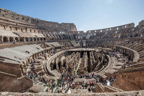 How Many People Did It Take To Build The Roman Colosseum