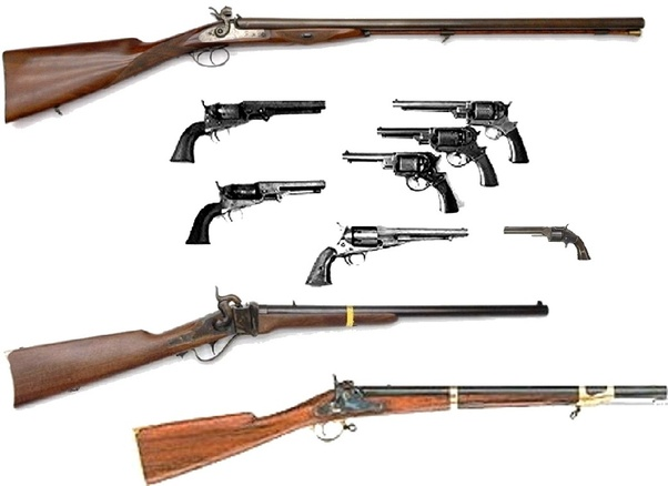 What type of rifles were used in the Civil War? - Quora