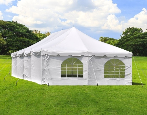 What are the benefits of using tents for any special ...