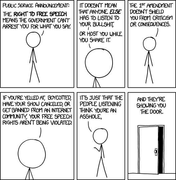 Do Americans Believe Freedom Of Speech Allows The Right To Speak