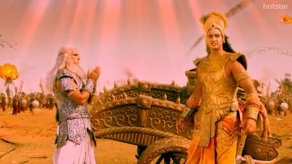 What Is The Best Conversation Between Two Characters From Mahabharat Quora