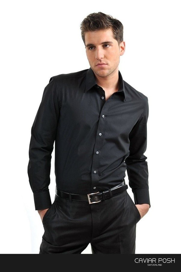 What pants go with a black shirt quora for What to wear with a red shirt