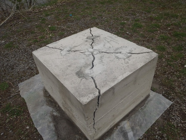 How To Break Hardened Concrete With Chemicals Quora