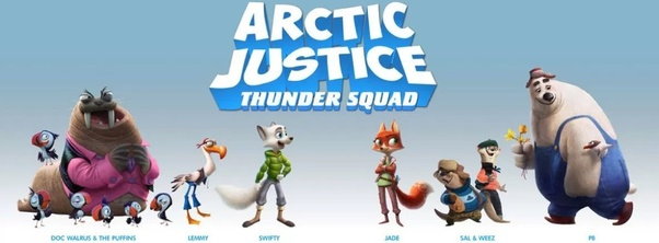 Where can I watch the movie Arctic Justice: Thunder Squad
