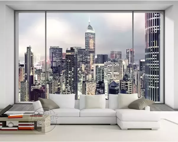 city lights wallpaper for bedroom how to decorate a new york themed bedroom quora 18467
