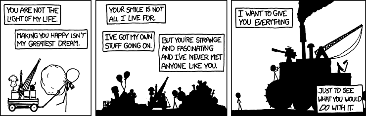 Which xkcd comic feels as if Randall wrote it just for you