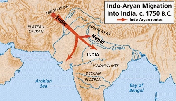 What Mountain Range Did The Aryan People Cross When Migrating Quora
