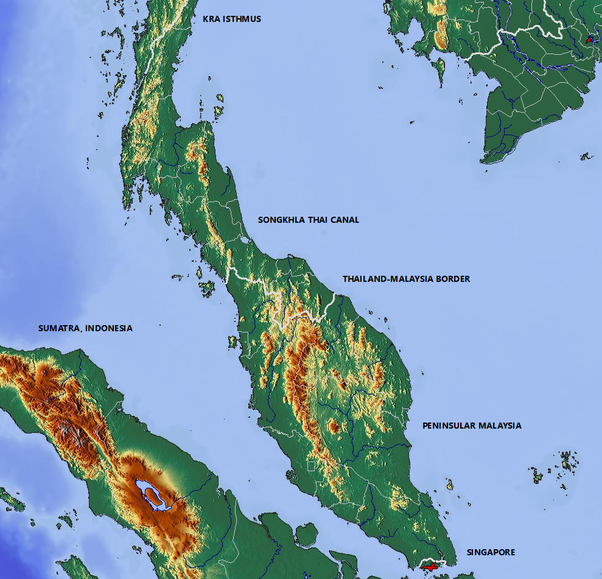 What would happen if the Malay Peninsula disappeared? - Quora on isthmus of corinth map, isthmus of kra southeast asia, thai canal, phang nga province, surat thani, kra canal map, kra isthmus located on the map, kra buri river map, isthmus of burma, isthmus of kra 200 bce, plateau of mexico map, isthmus of panama map, isthmus of panama, malay peninsula, isthmus of thailand, isthmus of suez map, isthmus of tehuantepec on map, isthmus of corinth, isthmus panama on map, isthmus of darien map, isthmus of tehuantepec, krabi province, trang province, tapi river, thailand,
