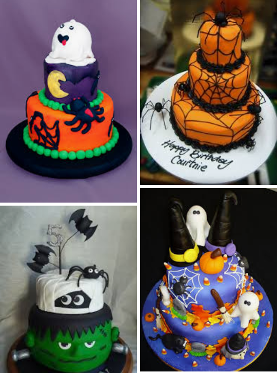 What Are Some Ideas Of Halloween Birthday Cakes For Kids