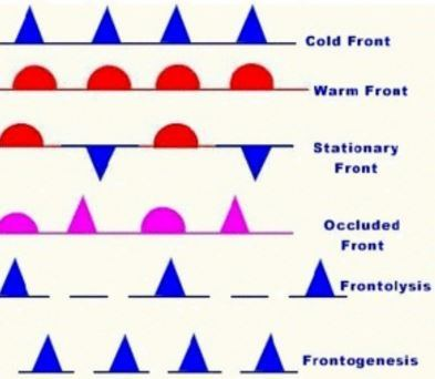 What Is Difference Between Cold Front And Warm Front In Geography
