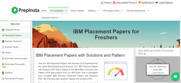 How to prepare for IBM placement - Quora