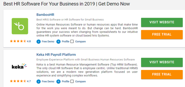What is the best HR software in India? - Quora