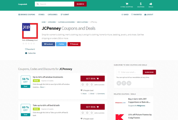 How to have any valid JCPenney coupon codes - Quora